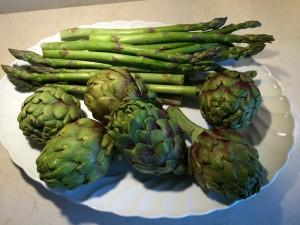 ArtichokesAsparagus